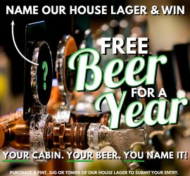 Name the House Beer Competition – Win Free Beer for a Year! Entries close 21 August!