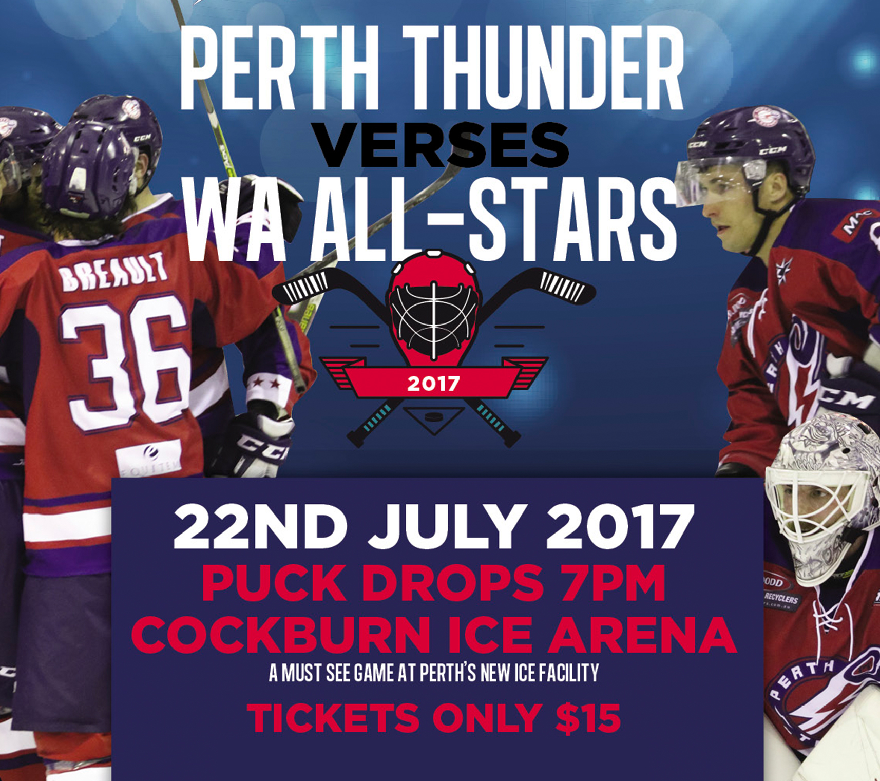 Perth Thunder Cockburn Ice Arena