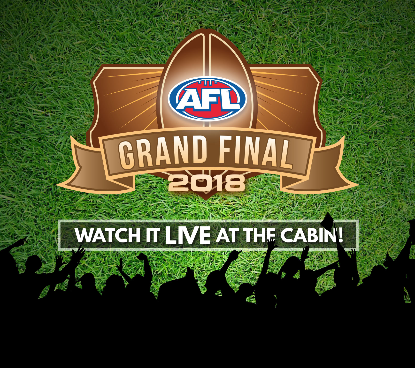 Watch the AFL Grand Final live at Cabin 401 Bar & Grill - activities for the kids