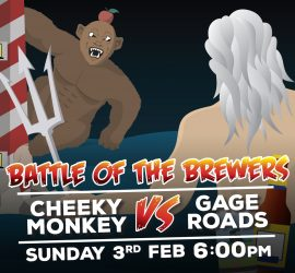 Battle of the Brewers: Cheeky Monkey vs Gage Roads