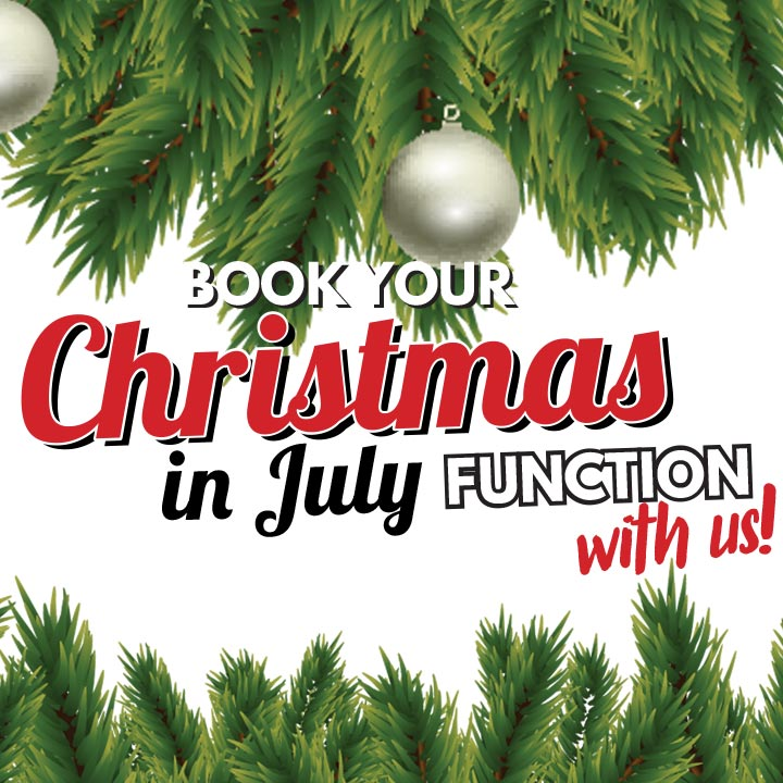 Christmas in July Function event image