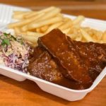 Smoked Brisket Box takeaway special at Cabin 401 Bar & Grill