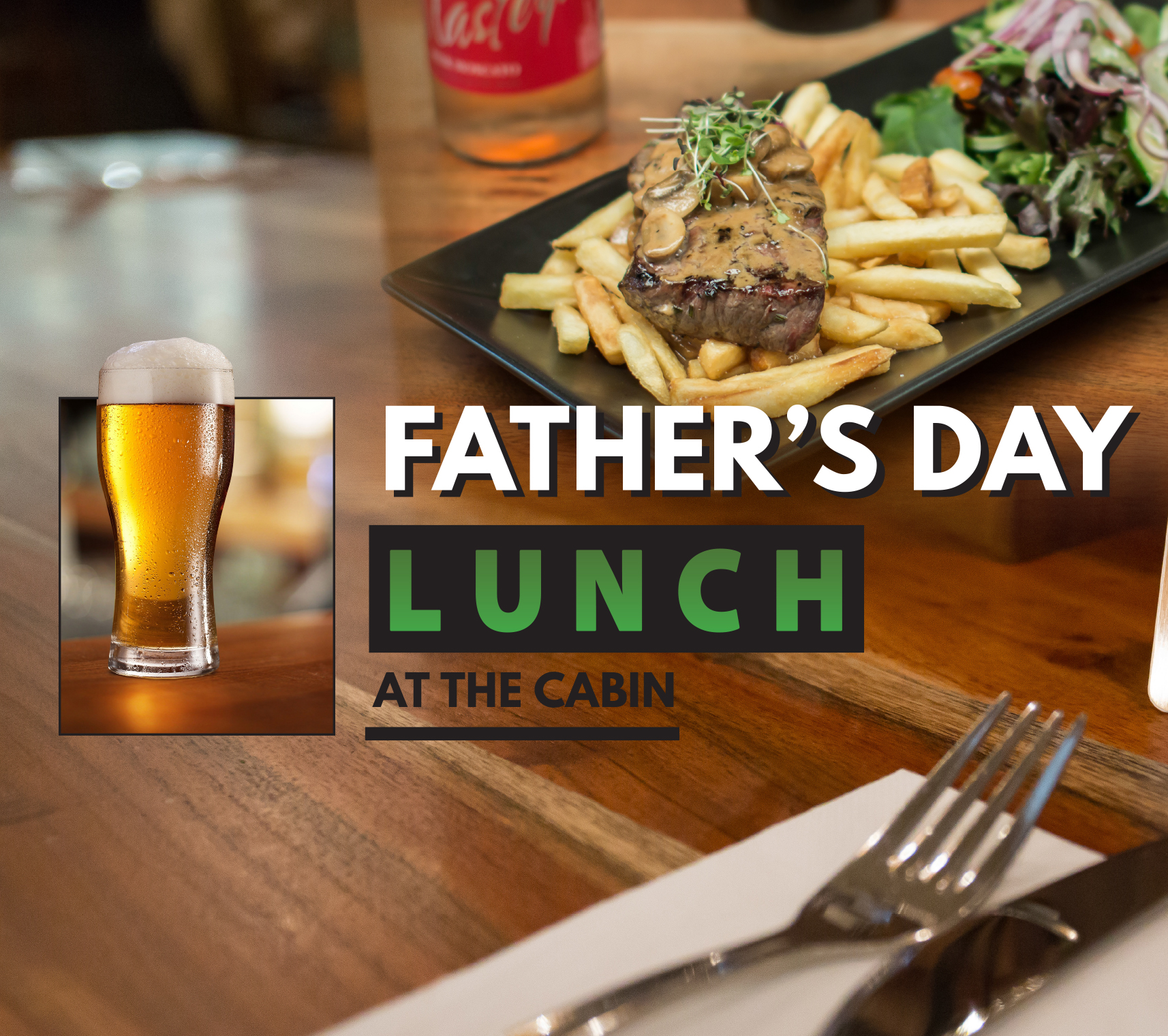 Fathers Day Lunch at Cabin 401