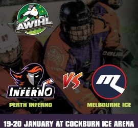 AWIHL: Perth Inferno vs Melbourne Ice