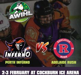 AWIHL: Perth Inferno vs Adelaide Rush